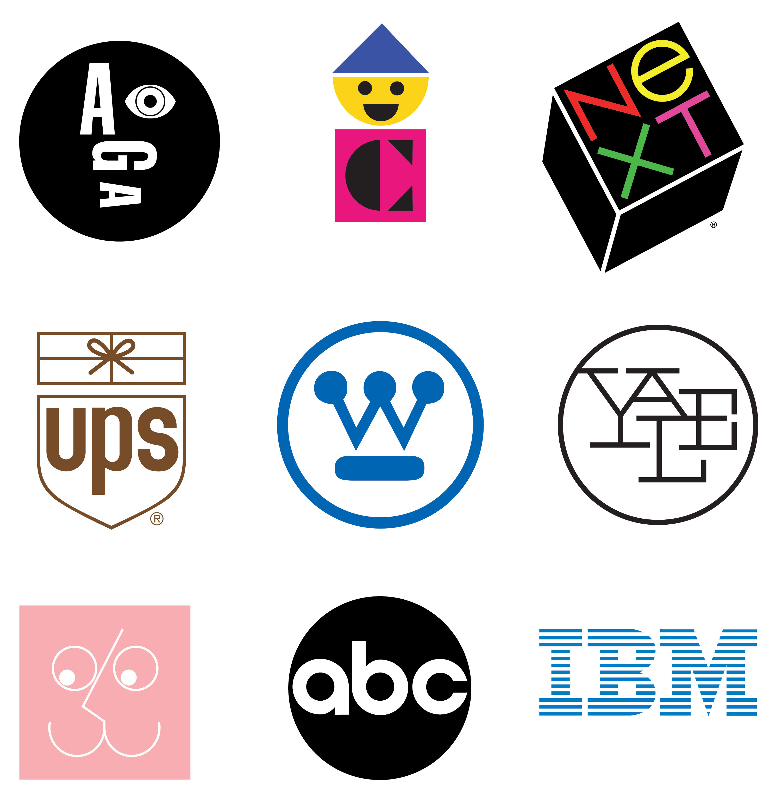 Paul Rand logos for features/arts
